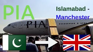 getlinkyoutube.com-✈️flight report✈️ Pakistan international airlines (PIA) PK701 Islamabad to Manchester B773