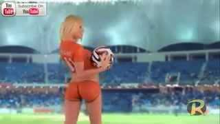 getlinkyoutube.com-FIFA soccer girls 2014 body painted so HOT