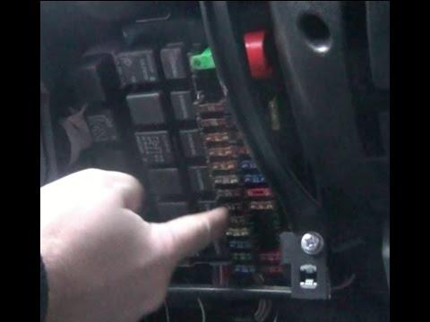 Где предохранитель обогрева заднего стекла в Lada Vesta Sport