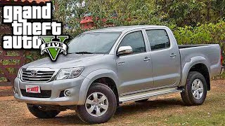 getlinkyoutube.com-GTA 5 Carro TOYOTA HILUX