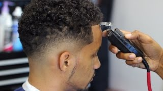 getlinkyoutube.com-HOW TO CUT A LOW BALD FADE with CURLY TOP
