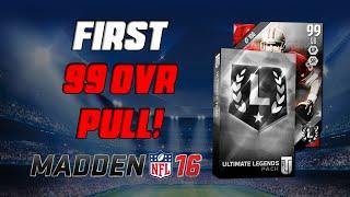 getlinkyoutube.com-99 Overall Pull! | Madden 16 Ultimate Team - 600K Ultimate Legend Pack Opening