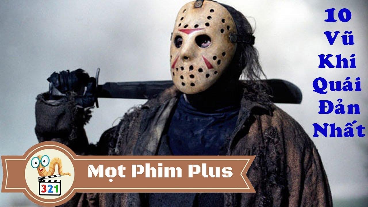 10 Vũ Khí Quái Đản Của Jason Voorhees Trong Seri Phim Kinh Dị Thứ 6 Ngày 13