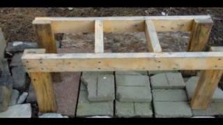 getlinkyoutube.com-Make a Cheap and Simple Bee Hive Stand