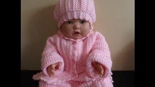 getlinkyoutube.com-Crochet abrigo  o suéter para bebé  - con Ruby Stedman.