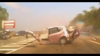 getlinkyoutube.com-Scary car crash compilation 6. Brutal car accidents. Graphic content viewer discretion is advised