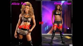 TNA's Knockouts vs WWE's Divas