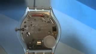 getlinkyoutube.com-Swiss Ultra Thin Swatch Watch