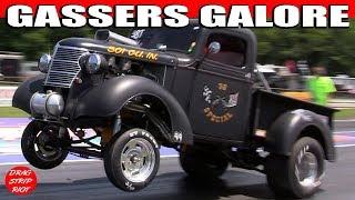 getlinkyoutube.com-2012 Gasser Reunion Nostalgia Gas Rd 2 Gassers Hot Rods Rat Rods Nostalgia Drag Racing Videos