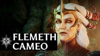 getlinkyoutube.com-Dragon Age: Inquisition - Flemeth Cameo (Kieran/Dark Ritual performed)