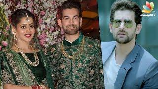 "getlinkyoutube.com-Big B, Salman, Rekha at ""Kaththi"" movie Villain Neil Nitin Mukesh lavish wedding   Marriage Video"