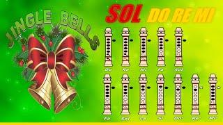 """getlinkyoutube.com-Navidad Navidad en Flauta """"Con Notas Explicadas"""" (Jingle Bells)"""