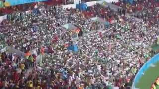 getlinkyoutube.com-ALGERIANS FANS - التشجيع على الطريقة الجزائرية يبهر العالم في البرازيل