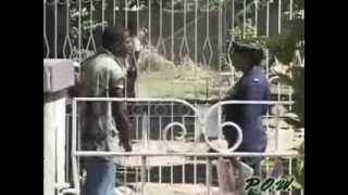 getlinkyoutube.com-Jamaican Soldier Slaps rude Jamaican Thug