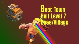 getlinkyoutube.com-Clash of Clans:: Road to max Twn hall 7, Raids and Upgrading walls Ep.2