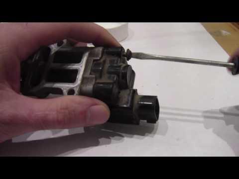 Чистка датчика РХХ Toyota Corolla