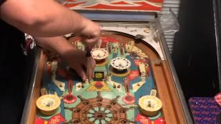 getlinkyoutube.com-1976 Gottlieb Buccaneer Pinball Playfield Tear-Down Part-1