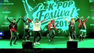 getlinkyoutube.com-151009 SHOWTIMEz cover iKON - RHYTHM TA + SINOSIJAK @K-POP Festival 2015