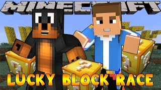 getlinkyoutube.com-Minecraft - Little Donny Adventures - Lucky Block Race w/ DONUT THE DOG