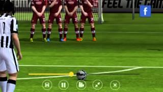 getlinkyoutube.com-Como Cobrar Tiros Libres - Fifa 15 UT Android