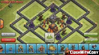 getlinkyoutube.com-Clash of Clans - TH10 Trophy/Hybrid/Clan Wars Base with 4th Mortar