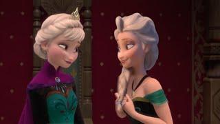 getlinkyoutube.com-Elsa twin sister (ft.Eugene) [Twins serie n*1]