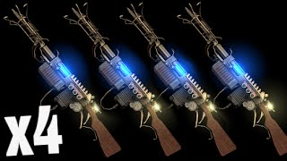 """4 WUNDERWAFFE TRICK! """"Black Ops 3 Zombies"""" The Giant Quad Wonder Weapons"""