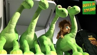 getlinkyoutube.com-The Good Dinosaur toys and merchandise at Disney Store 2015 Pixar