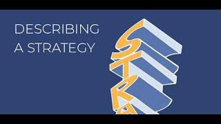Describing a Strategy