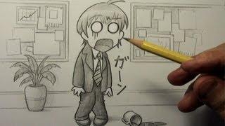 getlinkyoutube.com-How to Draw a Chibi: Total Shock!