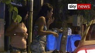 getlinkyoutube.com-Drug-Taking Child Prostitutes Work The Streets Of A World Cup City