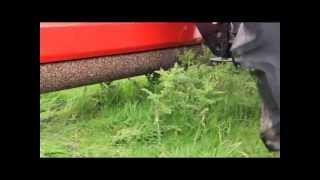 Blaney Agri Tractor Weed Wiper close up