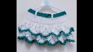 getlinkyoutube.com-CROCHET PINAPPLE SKIRT-1