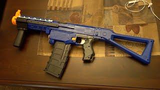getlinkyoutube.com-MY NEW NERF GUN!!