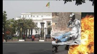 Grave Revelations sur Affaire Cheikh Diop l'Homme a voulu s'immoler par le feu devant le palais .