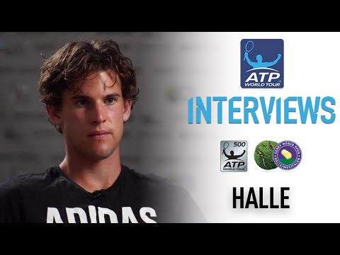 Thiem Talks Transition To Grass At Halle 2017