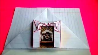 getlinkyoutube.com-оригами конверт,идеи для личного дневника (лд) #21 // origami paper envelope