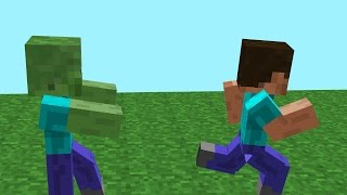 15 WAYS TO KILL A ZOMBIE IN MINECRAFT