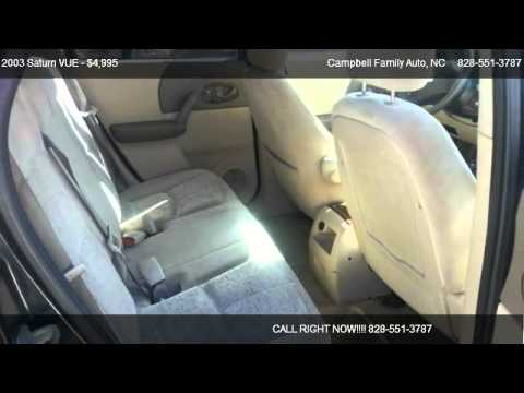 2003 Saturn VUE Base - for sale in Fairview, NC 28730