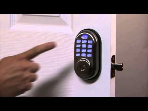 Yale Real Living Push Button Deadbolt Programming - Auto Re-lock 04