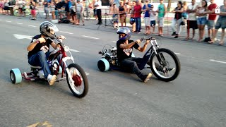 getlinkyoutube.com-Drift Trike Motorizado no 4º Guarapari Moto Rock