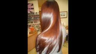 getlinkyoutube.com-How to get super glossy shiny hair at home