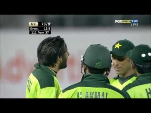 Shahid Afridi Bowl 134 Km/h Delivery  hd video