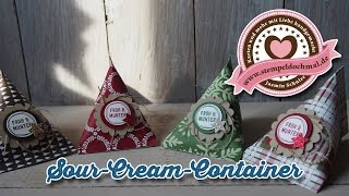 getlinkyoutube.com-Tutorial: Sour-Cream-Container mit Produkten von Stampin' Up!