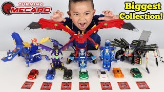 BIGGEST-Turning-Mecard-Toys-Collection-Auto-Transforming-Cars-Ckn-Toys width=