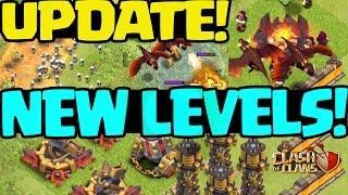 getlinkyoutube.com-Clash of Clans UPDATE! NEW LEVELS! MORE!