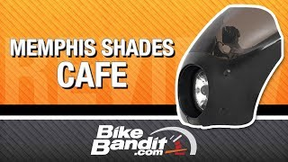 getlinkyoutube.com-Memphis Shades Cafe Fairing at BikeBandit.com