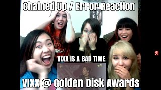 getlinkyoutube.com-[Reaction] VIXX - Chained Up / Error and special stage w/BTOB @ Golden Disk Awards 2016