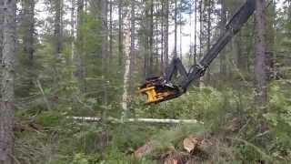 getlinkyoutube.com-TMK Tree shear with delimber blade