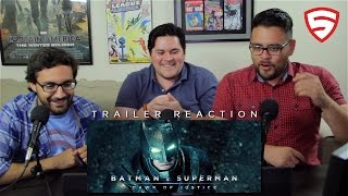 Batman v Superman: Dawn of Justice - Official Teaser Trailer Reaction!